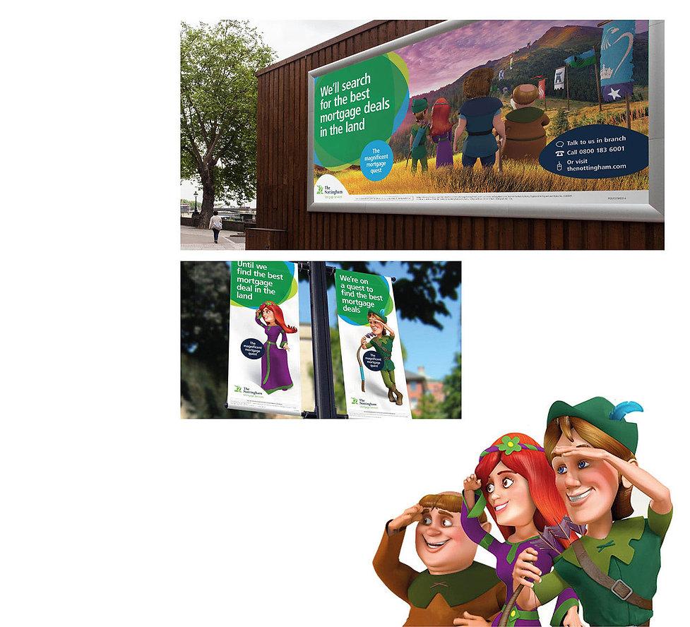Creative, Agency, design, Graphic design, Marketing, DM, Direct marketing, Kevan Kelsey, Cirencester, Gloucestershire. LV=, LV. Over 50's life insurance. Golf.Nottingham Building Society