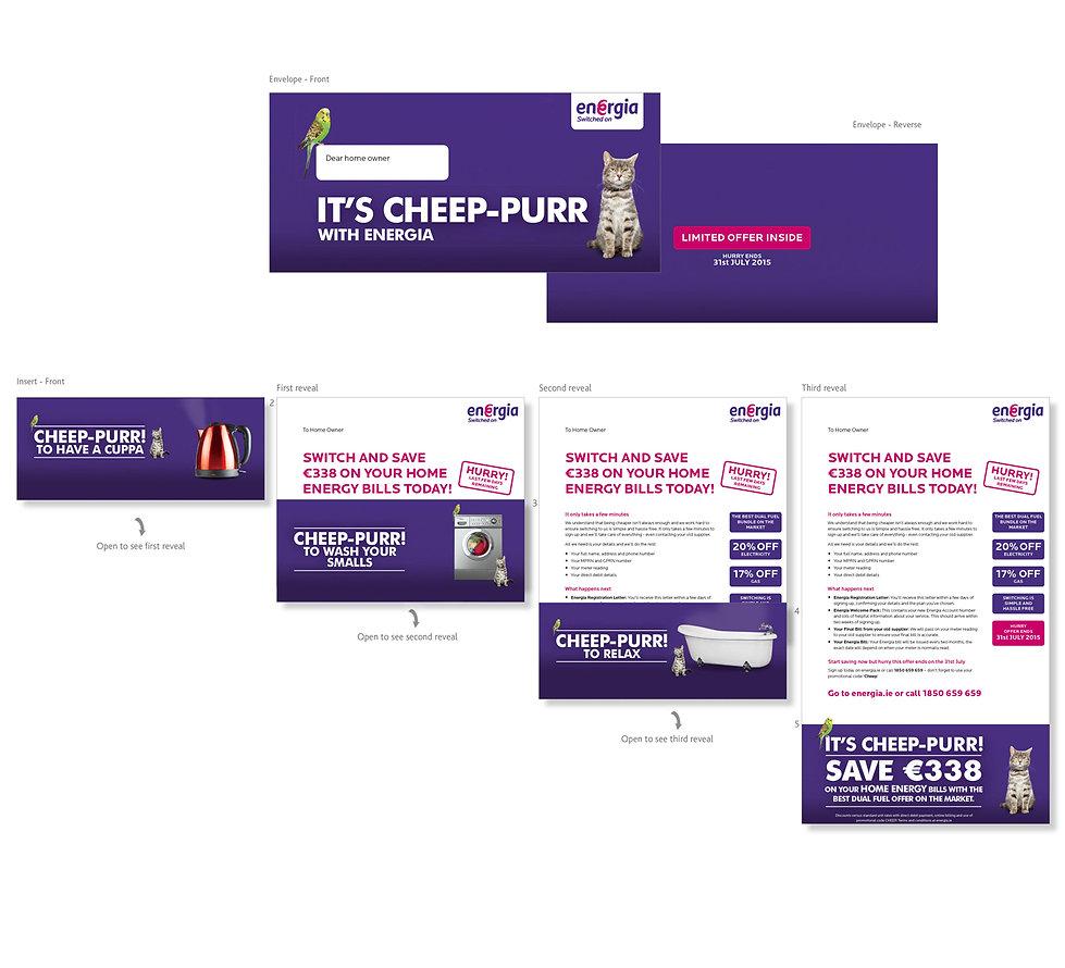 Creative, Agency, design, Graphic design, Marketing, DM, Direct marketing, Kevan Kelsey, Cirencester, Gloucestershire. LV=, LV. Over 50's life insurance. Golf. Energia
