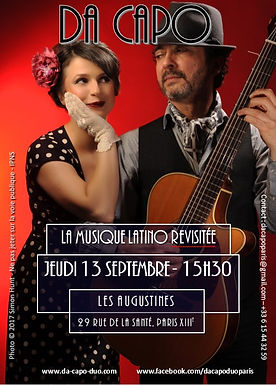 Da Capo Les Augustines 13 septembre 2018