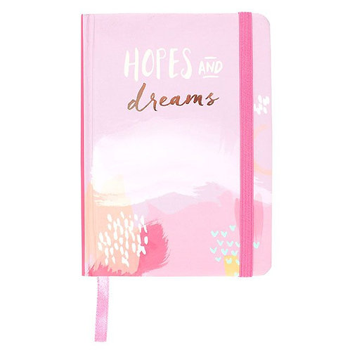 Hopes and Dreams A6 Notebook