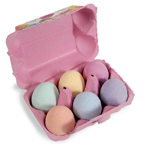 Novelty Bath Fizzers Egg Box – Pink