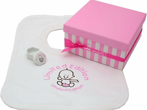 Baby Bib and Tooth Box