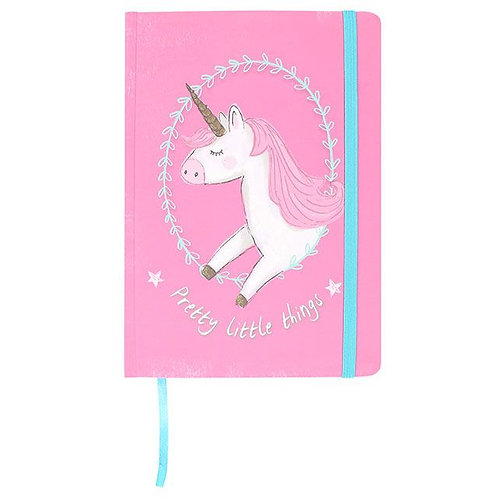 Unicorn Pretty Little Things Notebook