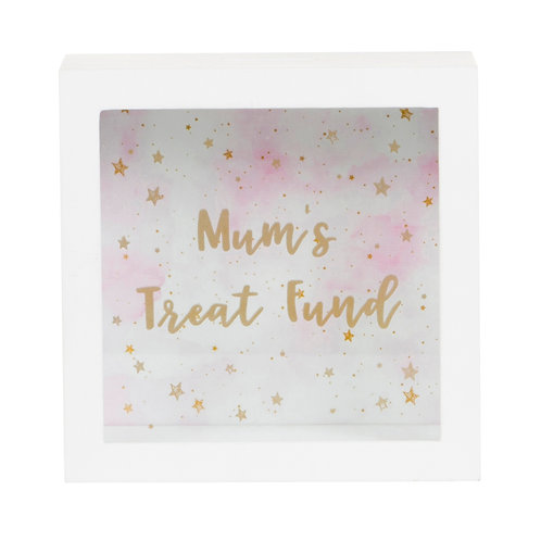Scattered Stars Mum's Treat Fund Money Box