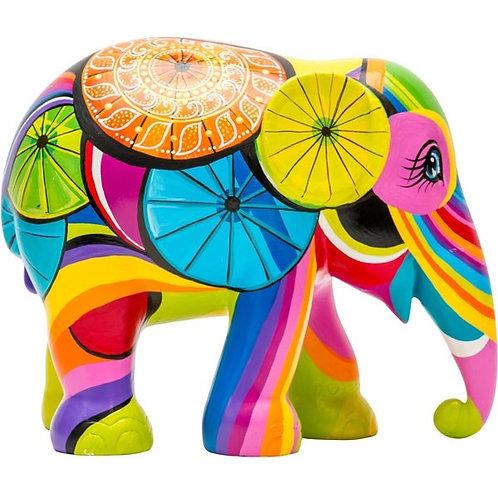 Colours of Chiang Mai - Elephant Parade 10cm