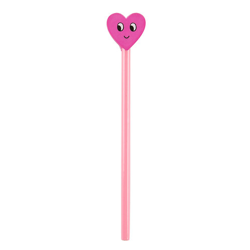 Flirty Heart Pencil Topper - Sass & Belle