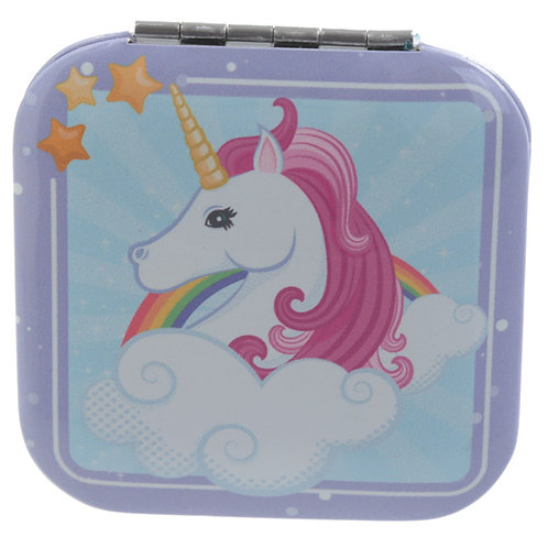 Enchanted Rainbows Unicorn Compact Mirror 2