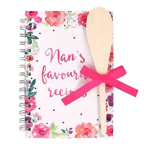 A5 Nan's Favourite Recipe Book