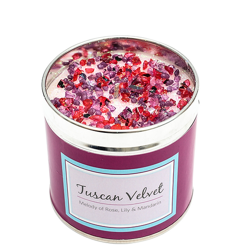 Tuscan Velvet - Seriously Scented Candles Collection