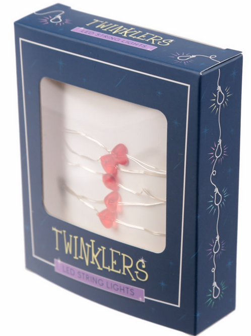 Twinklers - LED Heart String Lights