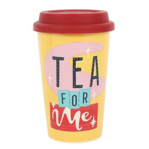 Tea for me Travel Mug