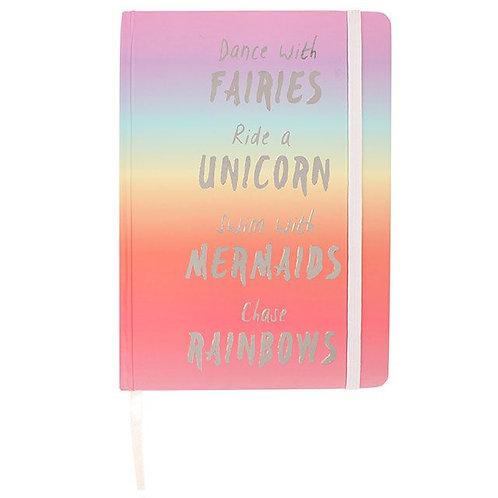 Rainbow A6 Notebook