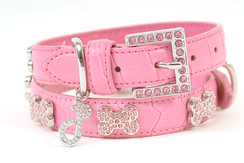 Ooh La La Crystal Dog Collar