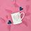 Thumbnail: Love You Pastel Pink Heart Mug