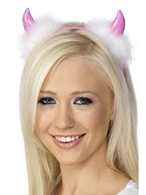Pink Devil Horns
