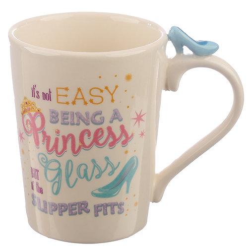 Princess Slipper Shaped Handle Ceramic Mug