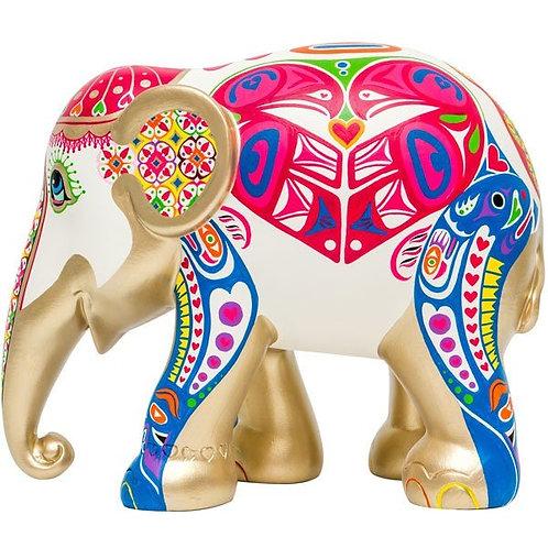 Love Wild, Love Free - Elephant Parade 10cm