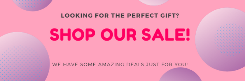 Pink Cyber Monday Sale Announcement Emai