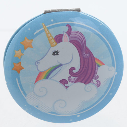 Enchanted Rainbows Unicorn Compact Mirror 1