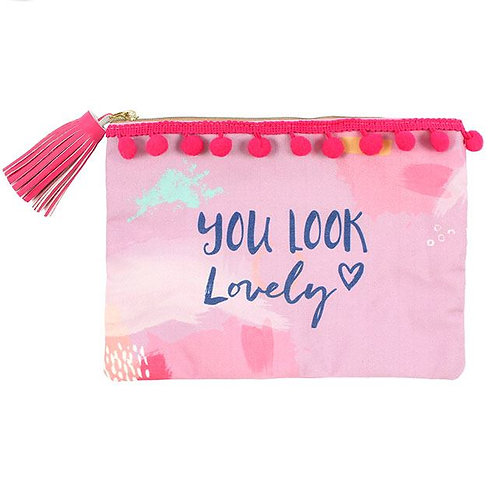 You Look Lovely Makeup Pouch