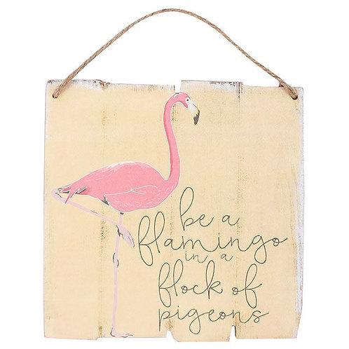 Flamingo Plaque