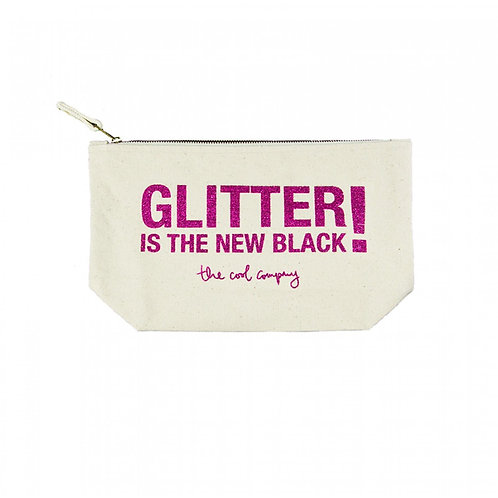 Glitter Is The New Black - Large Glitter Make-Up Bag