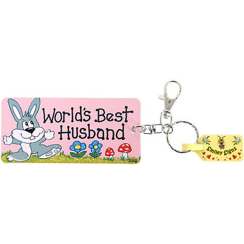 Key Ring - Worlds Best Husband