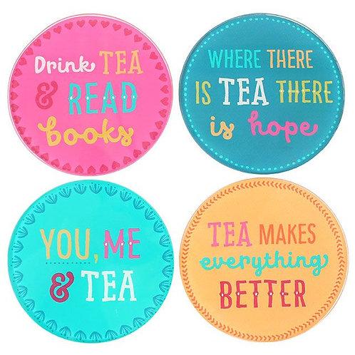 Fiesta Fun Tea Coasters