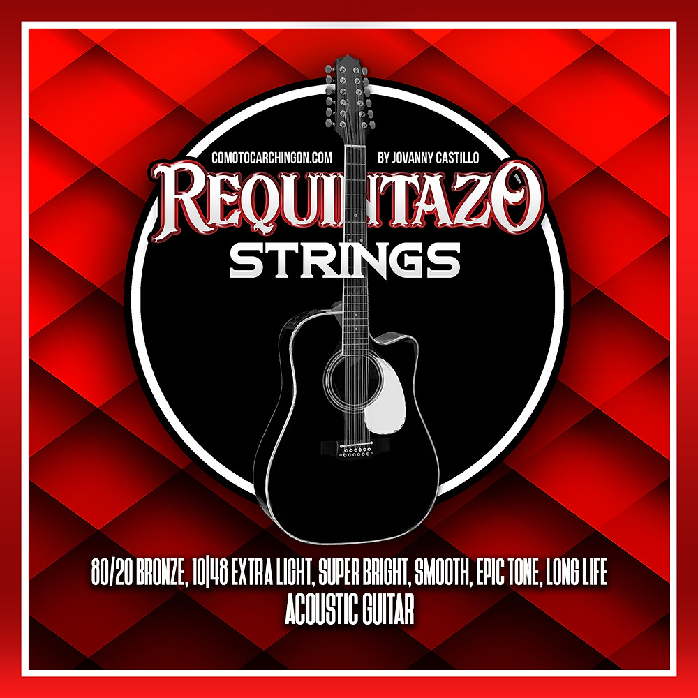 "Requintazo Strings, requintazo strings, requintazo strings,  ""requintazo strings"""