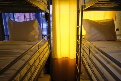 Beliches em quarto partilhado no Help Yourself Hostels Restelo