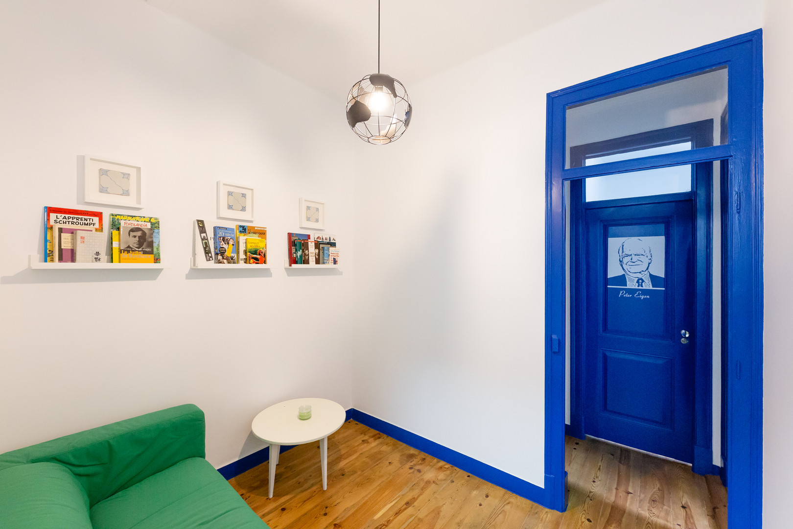 Sala do Help Yourself Hostels Parede