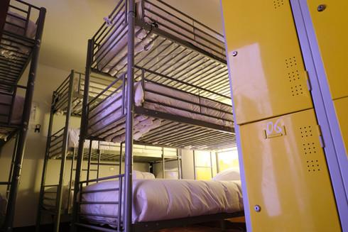 Cacifos em quarto partilhado do Help Yourself Hostels Restelo