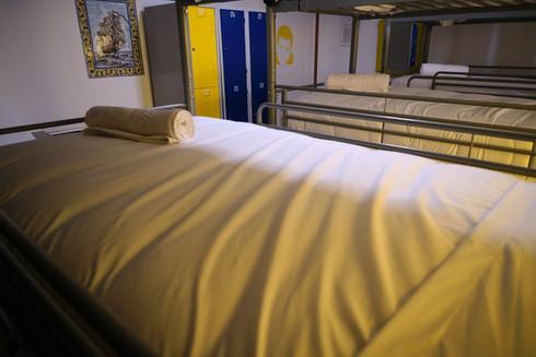 Cama em quarto partilhado no Hostel Restelo