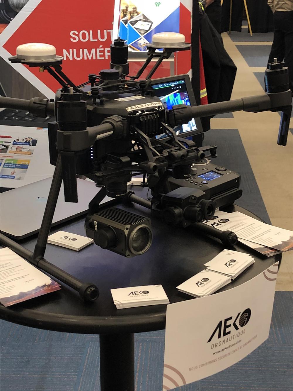 Drone M210 RTK d'AEKO Dronautique