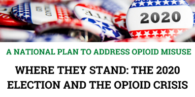 A National Plan To Address Opioid Misuse