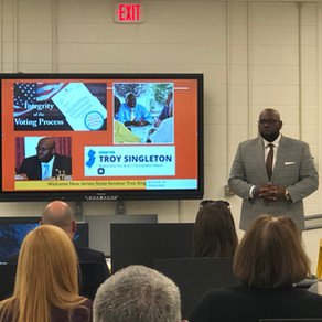 New Jersey Education & Policy Leaders Visit the Delran Innovation & Fabrication Lab