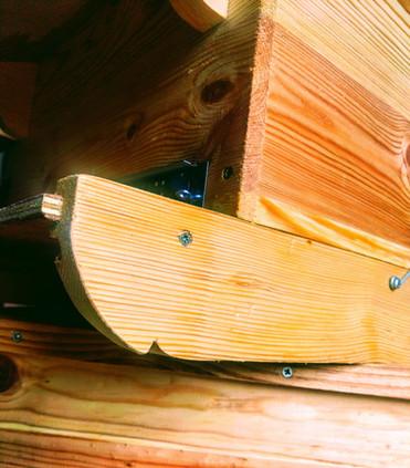 Détail fond de ruche
