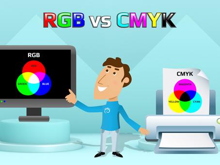 Что такое CMYK и RGB?