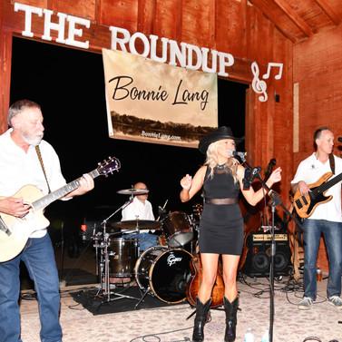 Bonnie Lang at The Roundup