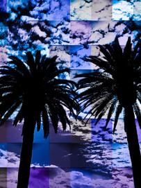 Patchwork Days blue:purple