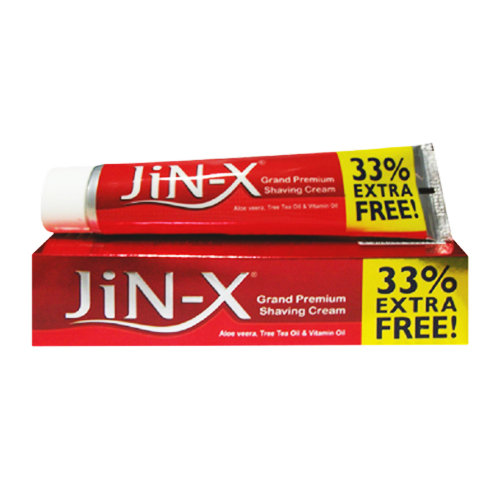 JIN-X Grand Premium Shaving Cream 125gm