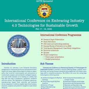 MCT's RGIT hosting AICTE Sponsored International Conference