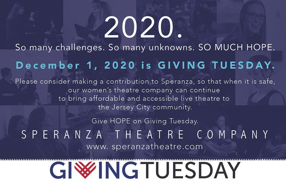 Speranza Theatre Company Fundraiser