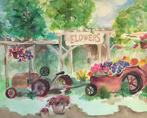 Abandoned Flower Shop