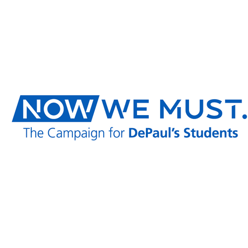 DePaul University Now We Must Campaign