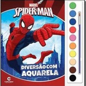 Aquarela Homem-Aranha