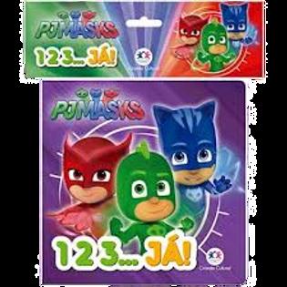 Livro de Banho - PJ Masks 1 2 3