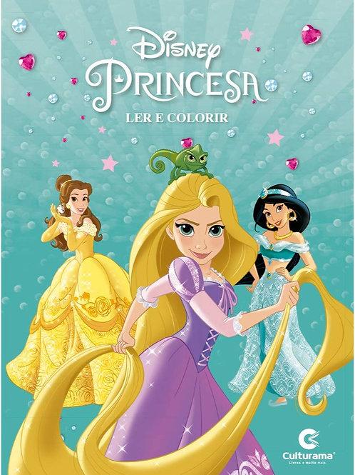 Ler e Colorir  - Princesas