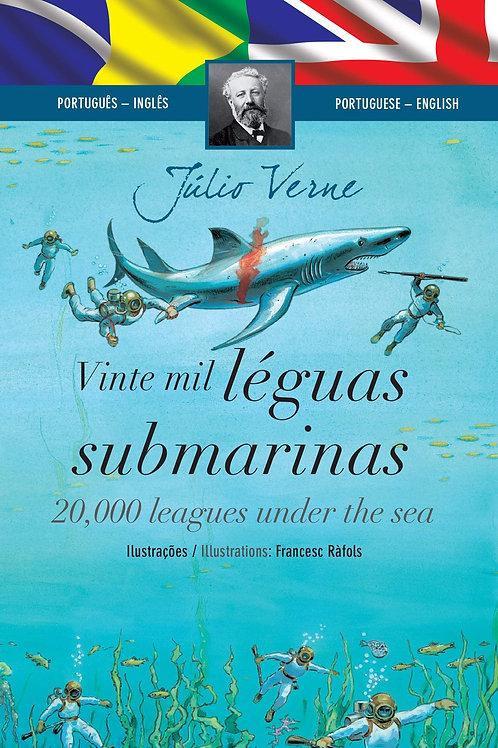 Vinte Mil Léguas Submarinas - Português-Inglês