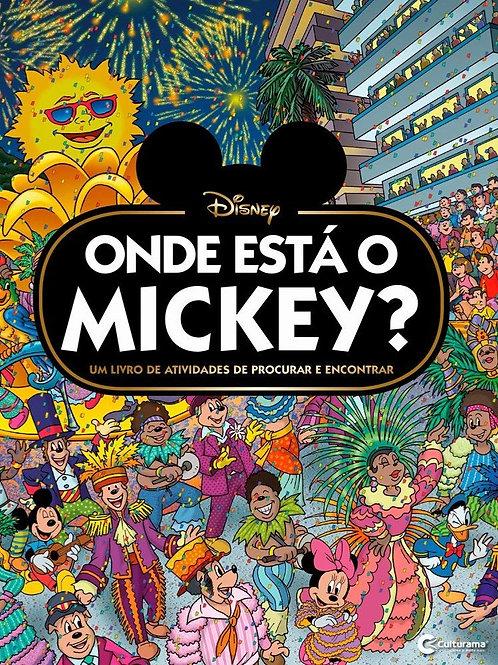 Onde Está o Mickey - Capa Dura
